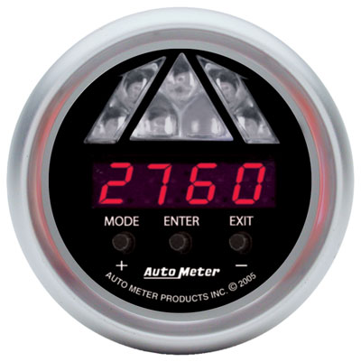 Large photo of Auto Meter Sport-Comp Digital Pro Shift Light Gauge, Level 1, Pegasus Part No. AM3387