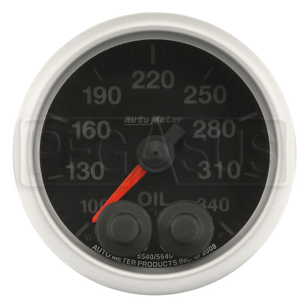 Auto Meter 5640 Elite Series Oil Temperature Gauge