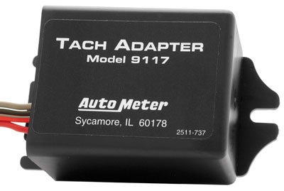 Large photo of Auto Meter Distributorless Ignition Tachometer Adapter, Pegasus Part No. AM9117