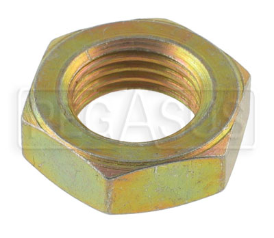 Large photo of AN316 Thin Jam Nut (Non-Locking Check Nut), Karting, Pegasus Part No. 9965-Size-Thread