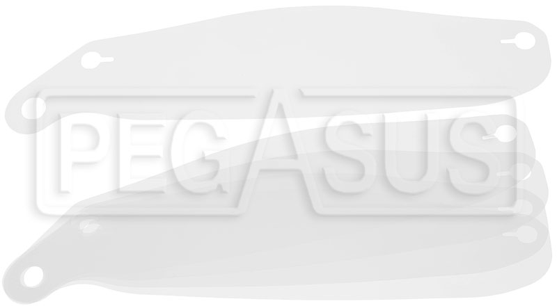click for a larger picture of arai shield tear offs for gp 5