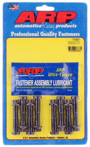 Large photo of ARP Rod Bolt Set for Mazda Miata 1.6 and 1.8L, M9, Pegasus Part No. ARP118-6401