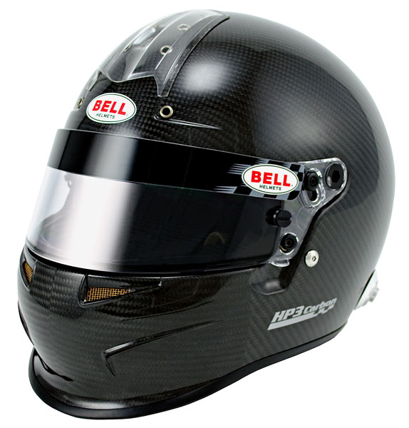 Large photo of Bell HP3 Carbon Fiber Helmet, Snell SAH10, FIA8860 Approved, Pegasus Part No. BE007-S10-Size