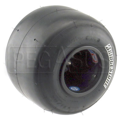 Large photo of Bridgestone Dry Racing Kart Tire (specify compound & size), Pegasus Part No. BSTD-Compound-Size