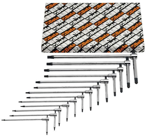 Beta 951tx S13 13 Pc Sliding T Handle Wrench Set Torx