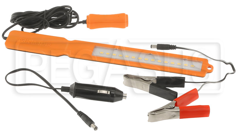 Large photo of Beta Tools 1838SL Ultra-Thin LED Inspection Lamp, 12 V, Pegasus Part No. BT-018380101