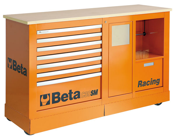 Large photo of Beta Tools C39SM Racing SM Type Special Cab - Ships Truck, Pegasus Part No. BT-039390001