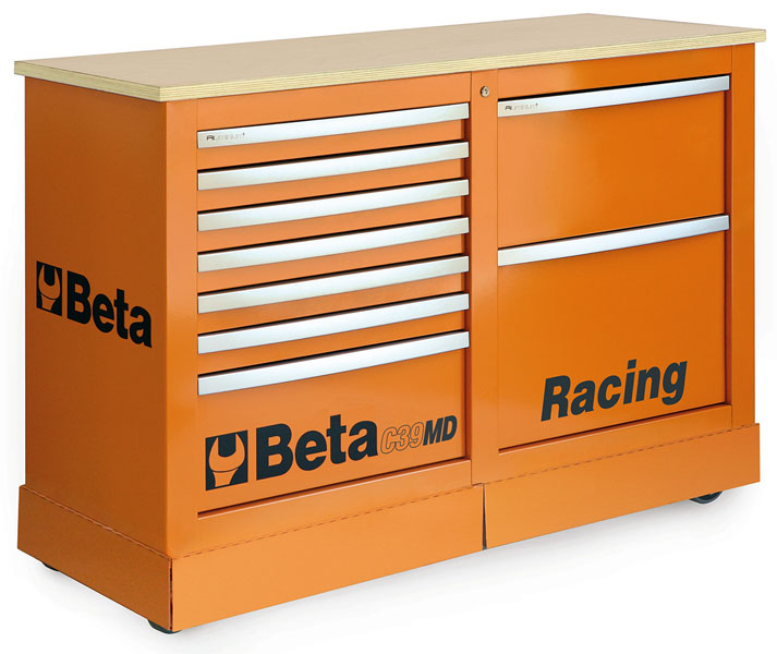 Large photo of Beta Tools C39MD Racing MD Type Special Cab - Ships Truck, Pegasus Part No. BT-039390101