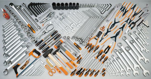 Large photo of Beta 5908VG/2 208 Piece Heavy Auto Repair Tool Kit, Metric, Pegasus Part No. BT-059080115