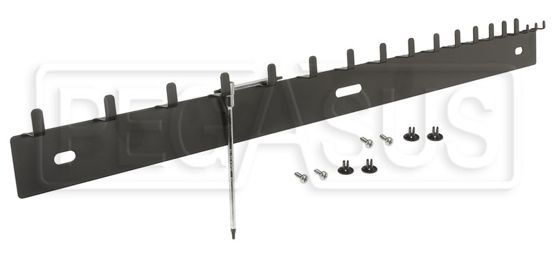 Large photo of Beta Tools S42/18 18-Wrench Hanging Rack, Pegasus Part No. BT-088880408