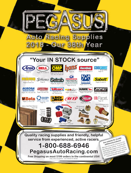 Large photo of 2018 Pegasus Catalog - Included with order, Pegasus Part No. CATALOG