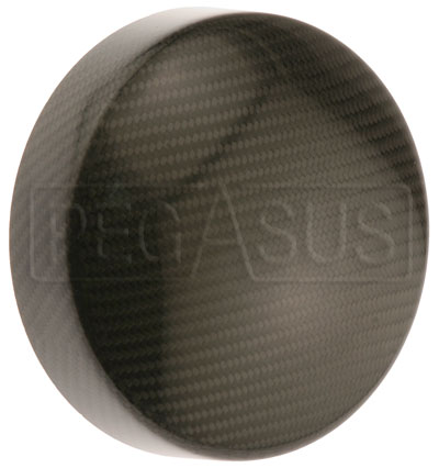 Large photo of Carbon Fiber Headlight Cover, specify size, Pegasus Part No. CF005-Size