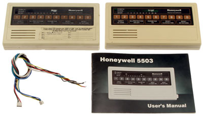 Large photo of Used Honeywell Alarm Panels - D330, D320, Cables, Manual, Pegasus Part No. CL-HONEYWELL-D330