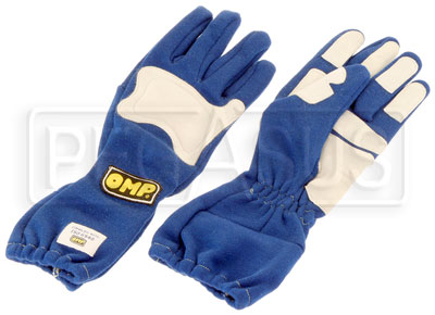 Large photo of Clearance OMP Gran Premio Nomex Driving Gloves, ISO 6940, Pegasus Part No. CL2620-Size-Color