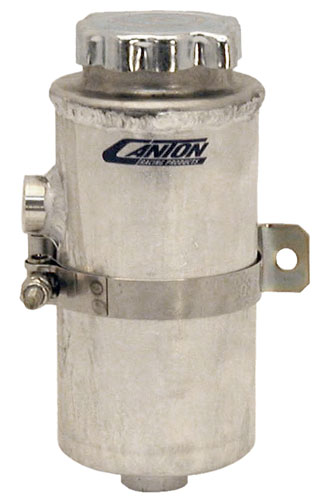 Large photo of Canton Universal Power Steering Tank, 23 oz, Pegasus Part No. CM 77-250