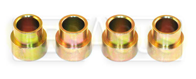 Large photo of Shoulder Bushing for 1/2 Bearing to 3/8 Bolt, 4pk, Pegasus Part No. CS1815B