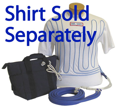 Large photo of Cool Shirt 6 Quart Portable Bag System, Cooler & Hoses only, Pegasus Part No. CS2210