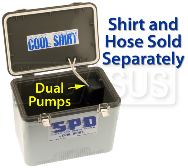 Large photo of Cool Shirt SPD Dual Pump Cooler, Pegasus Part No. CS2410
