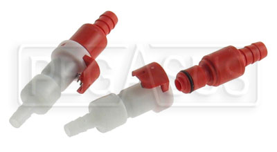 Large photo of Cool Shirt 5/16 inch FIA Pull Release Connector Set (2 pair), Pegasus Part No. CS465