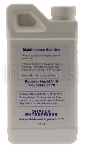 Large photo of Cool Shirt Maintenance Additive, 16oz Bottle, Pegasus Part No. CS483