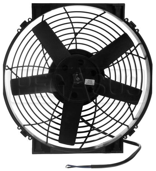 Davies Craig 14 Inch Electric Fan Short Fan Only 12v