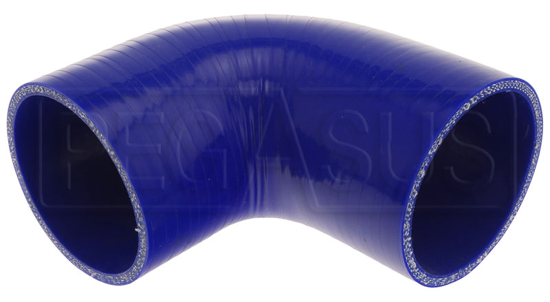 Large photo of Blue Silicone Hose, 3.00