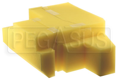 Large photo of Foam Baffling Only for SA-117 Cell, Pegasus Part No. FS FBSA-117