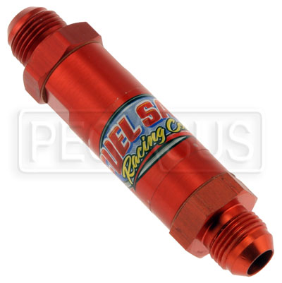 Large photo of Fuel Cell Vent Check Valve, In-Line, 8AN Male Fittings, Pegasus Part No. FS ILVV08