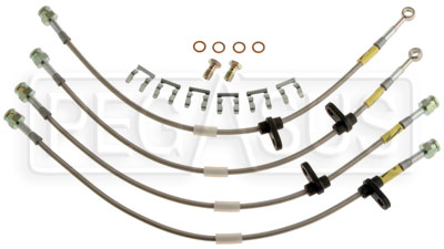 Large photo of G-Stop Brake Line Set, 08-up Mitsubishi Evolution X, Pegasus Part No. GS-26053