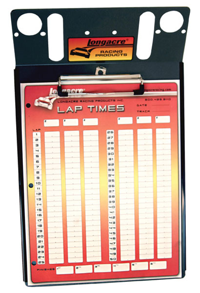 Large photo of Longacre Clip Board Only, for 3 Robic Stopwatches, Pegasus Part No. LA22314