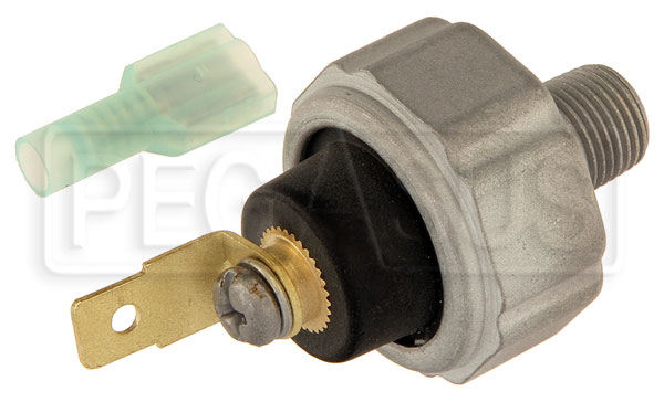 Large photo of 3 psi Coolant Low Pressure Warning Switch - 1/8 NPT, Pegasus Part No. LA43241