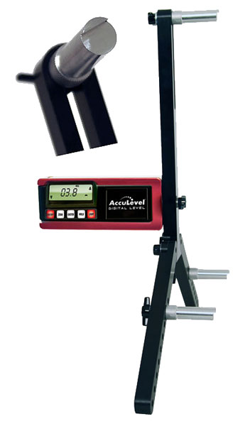 Large photo of Digital AccuLevel Caster/Camber Gauge w/LW Quick Set Adapter, Pegasus Part No. LA78298