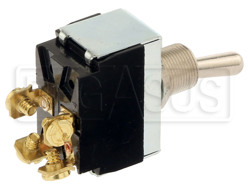 Large photo of Ignition & Momentary Start Toggle Switch only, Pegasus Part No. LA900084