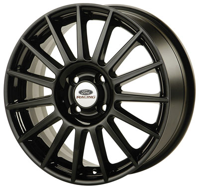 Large photo of 2000-09 Ford Racing Focus Rally Wheel, Black, Pegasus Part No. M-1007-S177B