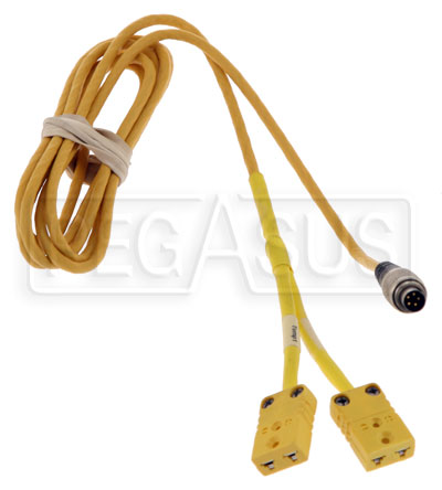 Large photo of MyChron 3 2T Y-Cable, Thermocouple, Pegasus Part No. MC-015