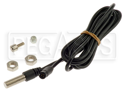 Large photo of AiM Magnetic Wheel Speed Sensor, 719 Lead, Pegasus Part No. MC-216