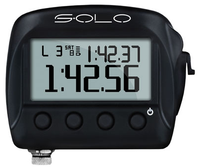 Large photo of AiM Solo On-Board Lap Timer, Stand-Alone Version, Pegasus Part No. MC-570