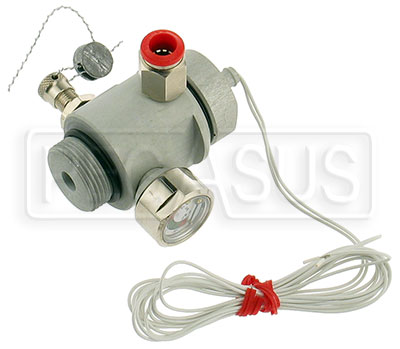 Large photo of OMP Electric Actuating Head, Pegasus Part No. OMP-CD307V