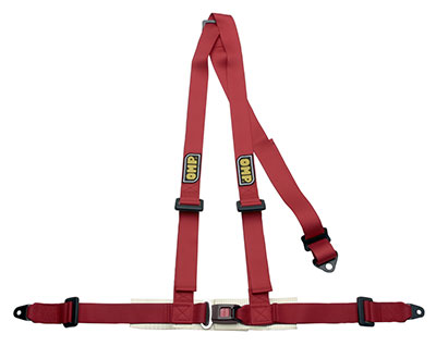 Large photo of OMP Road 3 Harness, 3-point, Pegasus Part No. OMP-DA504-Color