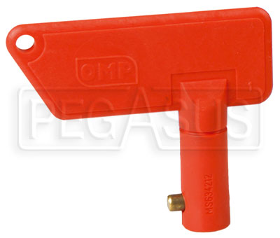 Large photo of OMP Spare Key for OMP EA/460 2-Terminal Switch, Pegasus Part No. OMP-EA463