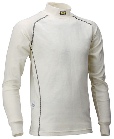 Large photo of Clearance OMP Nomex Underwear Top, Long Sleeve, FIA Approved, Pegasus Part No. CLOMP-IAA727-Size