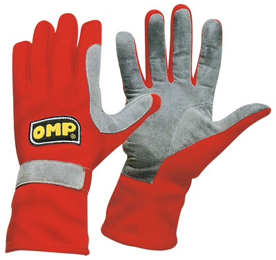 Large photo of OMP Challenger Nomex Driving Glove, FIA 86 / ISO 6940, Pegasus Part No. OMP-IB/712-Size-Color