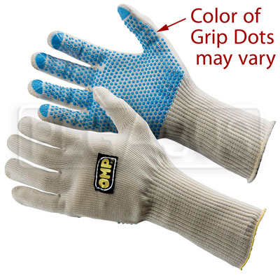 Large photo of OMP Long Fiberglass Knit Gloves, 1 size (Pair), Pegasus Part No. OMP-NB1865