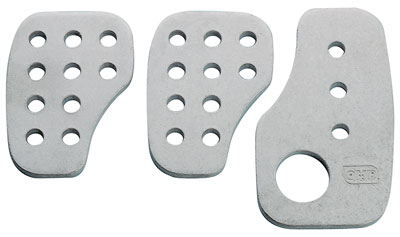 Large photo of OMP Pedal Pad Set, F1 Style, Smooth, Pegasus Part No. OMP-OA1030
