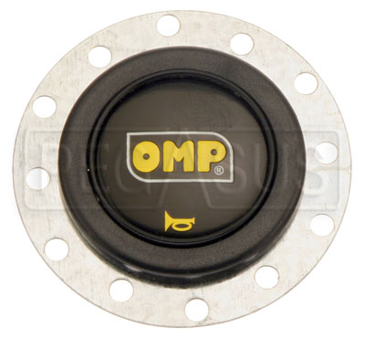 Large photo of OMP Horn Button for 6-Bolt Steering Wheel, Pegasus Part No. OMP-OD1960