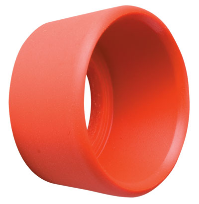 Large photo of Red Protective Ring for Push Button Switch, Pegasus Part No. OMP-X/181493