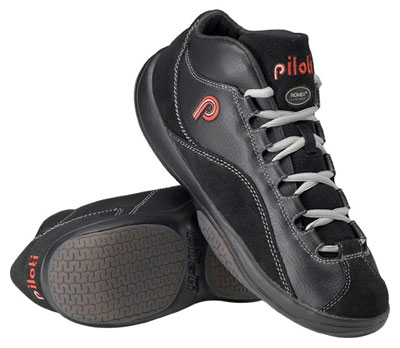 Large photo of Piloti DTM-R Nomex Lined Driving Shoes, SFI Approved, Pegasus Part No. PIL001-Size-Color