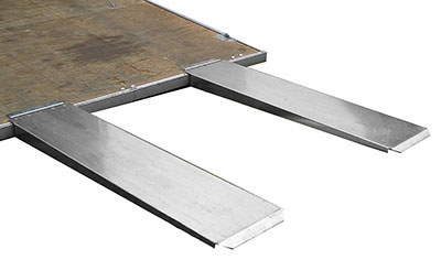 Large photo of (S) Pit Pal 72 Inch Dual Trailer Extension Ramps, Pegasus Part No. PP702