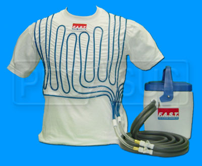Large photo of F.A.S.T. Economy Water-Cooled Suit System, 8 Qt., Pegasus Part No. RA217-Size