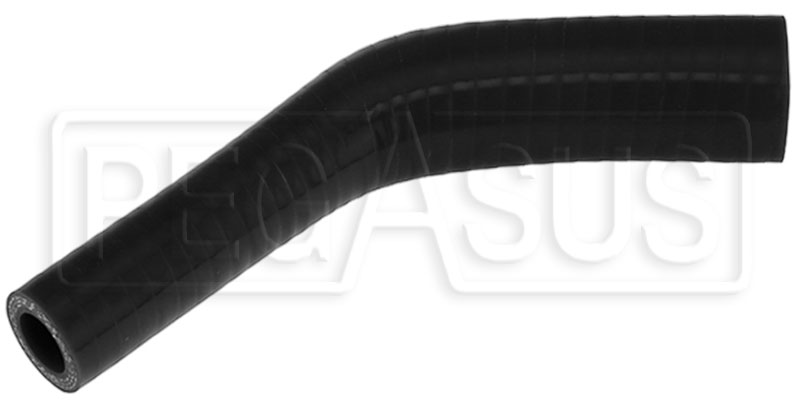 Large photo of Black Silicone Hose, 1
